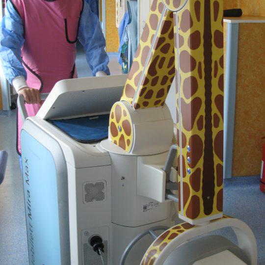 Aparat radiografie mobil digital