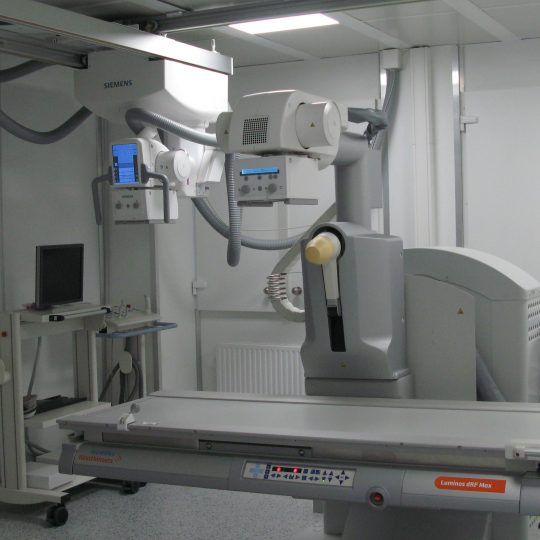 Radioscopie si radiografie digitala